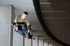 πηδώντας κύλινδρος Στοκ φωτογραφία με δικαίωμα ελεύθερης χρήσης