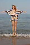 πηδώντας κύματα Στοκ εικόνες με δικαίωμα ελεύθερης χρήσης