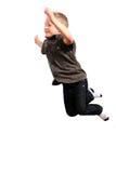 πηδώντας νεολαίες αγοριών Στοκ Εικόνα