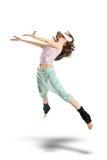 πηδώντας νεολαίες χορε&ups Στοκ Φωτογραφία