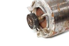 Πηνία χαλκού μέσα στην ηλεκτρική μηχανή στοκ φωτογραφία με δικαίωμα ελεύθερης χρήσης