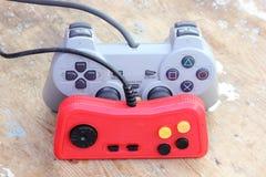 Πηδάλιο Playstation με το εκλεκτής ποιότητας πηδάλιο Στοκ φωτογραφίες με δικαίωμα ελεύθερης χρήσης