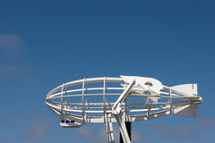 Πηδαλιουχούμενο εύκαμπτο αερόστατο μετάλλων Στοκ φωτογραφία με δικαίωμα ελεύθερης χρήσης
