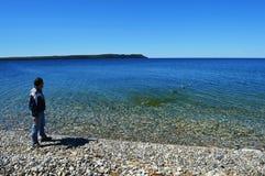 Πηδώντας βράχοι Στοκ εικόνες με δικαίωμα ελεύθερης χρήσης