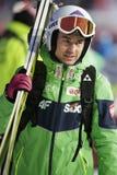 Πηδώντας Παγκόσμιο Κύπελλο σκι FIS σε Zakopane 2016 Στοκ φωτογραφία με δικαίωμα ελεύθερης χρήσης
