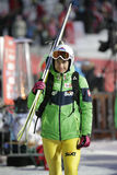 Πηδώντας Παγκόσμιο Κύπελλο σκι FIS σε Zakopane 2016 Στοκ Εικόνες