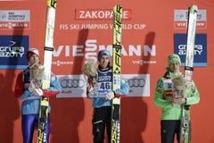 Πηδώντας Παγκόσμιο Κύπελλο σκι FIS σε Zakopane 2016 Στοκ εικόνα με δικαίωμα ελεύθερης χρήσης