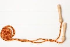 Πηδώντας σχοινί Στοκ φωτογραφία με δικαίωμα ελεύθερης χρήσης