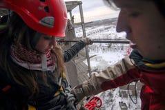 Πηδώντας υπόβαθρο θαμπάδων θέματος γεγονότος σχοινιών Στοκ Εικόνα