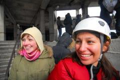 Πηδώντας υπόβαθρο θαμπάδων θέματος γεγονότος σχοινιών Στοκ Φωτογραφία
