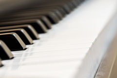 Πιάνο, ένας βλαστός φωτογραφιών για τη διεθνή ημέρα μουσικής Στοκ φωτογραφία με δικαίωμα ελεύθερης χρήσης