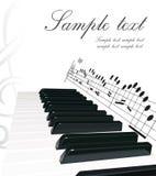 πιάνο ανασκόπησης ελεύθερη απεικόνιση δικαιώματος
