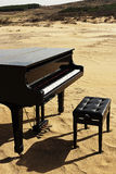 πιάνο ερήμων Στοκ εικόνα με δικαίωμα ελεύθερης χρήσης