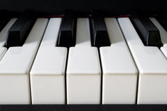 πιάνο λεπτομέρειας στοκ φωτογραφίες με δικαίωμα ελεύθερης χρήσης