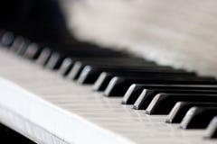 πιάνο πληκτρολογίων Στοκ εικόνα με δικαίωμα ελεύθερης χρήσης