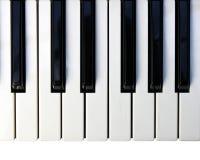 πιάνο πληκτρολογίων Στοκ φωτογραφία με δικαίωμα ελεύθερης χρήσης