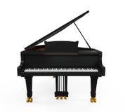 Πιάνο που απομονώνεται μεγάλο Στοκ φωτογραφία με δικαίωμα ελεύθερης χρήσης