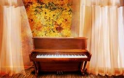 πιάνο Στοκ φωτογραφία με δικαίωμα ελεύθερης χρήσης