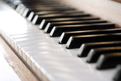 πιάνο Στοκ εικόνες με δικαίωμα ελεύθερης χρήσης