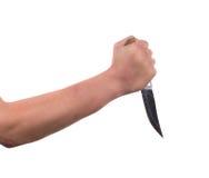 Πιάσιμο του μαχαιριού στοκ φωτογραφία με δικαίωμα ελεύθερης χρήσης