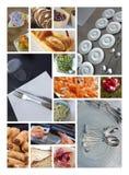 Πιάτα και μαχαιροπήρουνα Στοκ Εικόνες