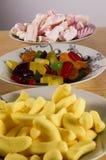 πιάτα καραμελών στοκ φωτογραφίες