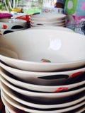 Πιάτα κεραμικά Στοκ εικόνα με δικαίωμα ελεύθερης χρήσης
