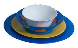 Πιάτα κόμματος Στοκ φωτογραφία με δικαίωμα ελεύθερης χρήσης