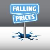 Πιάτα μειωμένων τιμών απεικόνιση αποθεμάτων