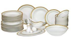 πιάτα πιάτων Στοκ Φωτογραφίες