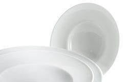 πιάτα που τίθενται Στοκ εικόνες με δικαίωμα ελεύθερης χρήσης