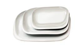 πιάτα που τίθενται Στοκ Εικόνες
