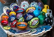 Πιάτα της Κίνας στη Ιστανμπούλ Στοκ εικόνες με δικαίωμα ελεύθερης χρήσης