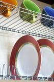 πιάτα φλυτζανιών Στοκ Εικόνες