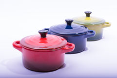 Πιάτα φούρνων Στοκ Εικόνα