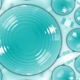 πιάτα Στοκ εικόνα με δικαίωμα ελεύθερης χρήσης