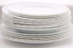 πιάτα Στοκ Εικόνες