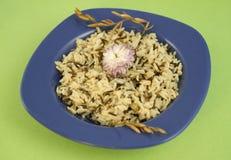 Πιάτο άγριου ρυζιού Στοκ φωτογραφία με δικαίωμα ελεύθερης χρήσης