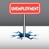 Πιάτο ανεργίας απεικόνιση αποθεμάτων