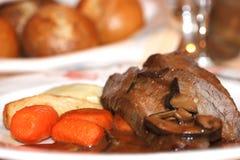 Πιάτο γευμάτων Στοκ Εικόνα