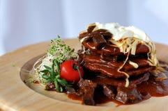 πιάτο γεύματος Στοκ εικόνες με δικαίωμα ελεύθερης χρήσης