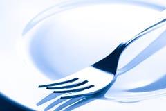 πιάτο δικράνων Στοκ φωτογραφία με δικαίωμα ελεύθερης χρήσης