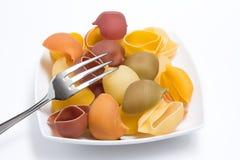 πιάτο ζυμαρικών Στοκ φωτογραφία με δικαίωμα ελεύθερης χρήσης
