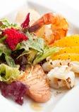 Πιάτο θαλασσινών Στοκ φωτογραφία με δικαίωμα ελεύθερης χρήσης