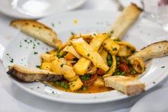 Πιάτο θαλασσινών της Ρώμης Στοκ φωτογραφίες με δικαίωμα ελεύθερης χρήσης
