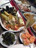 Πιάτο θαλασσινών Στοκ Εικόνες