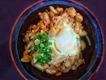 Πιάτο ιαπωνικού Ramen στοκ φωτογραφία με δικαίωμα ελεύθερης χρήσης