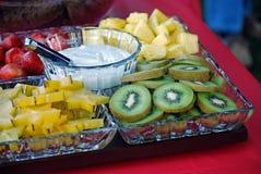 πιάτο καρπού Στοκ φωτογραφία με δικαίωμα ελεύθερης χρήσης