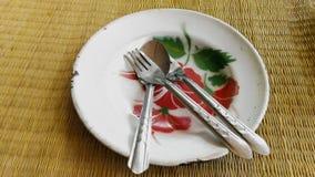 Πιάτο, κενό πιάτο, πιατικά, κλωστοϋφαντουργικό προϊόν, πρόγευμα στοκ φωτογραφίες με δικαίωμα ελεύθερης χρήσης