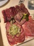 Πιάτο κρέατος Στοκ φωτογραφία με δικαίωμα ελεύθερης χρήσης